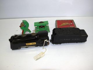 Grouping of toy trains  tin toys