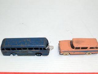 DINKY bus and NASH RABlER wagon