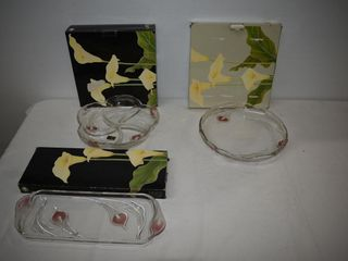 """Vintage WALTHER GLAS """"Mayfair"""" Serving Pces"""