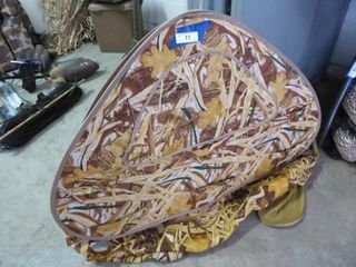Camo collapsible dog blind (AS IS)