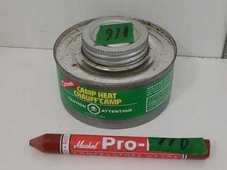 RED MARKING CRAYON, 6.4 OZ COLEMAN CAMPHEAT