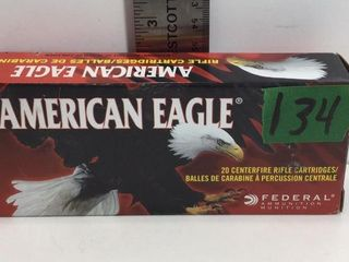 1 BOX 7.62X39MM AMERICAN EAGLE FMJ AMMO