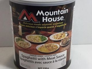 1 CAN MOUNTAIN HOUSE SPAGHETTI /W MEAT SAUCE