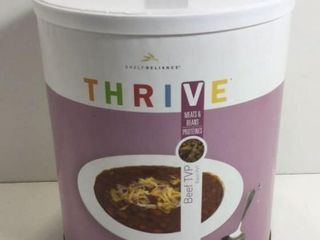 1 CAN THRIVE FREEZE DRIED BEEF TVP