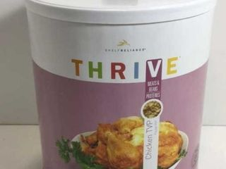 1 CAN THRIVE FREEZE DRIED CHICKEN TVP