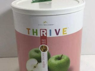 1 CAN THRIVE FREEZE DRIED APPLE SLICES