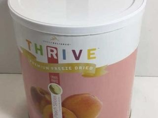 1 CAN THRIVE FREEZE DRIED PEACHES
