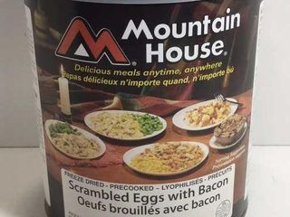 1 CAN MOUNTAIN HOUSE SCRAMBLED EGGS /W BACON