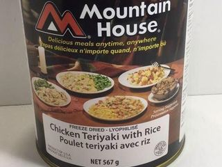 1 CAN MOUNTAIN HOUSE CHICKEN TERIYAKI /W RICE