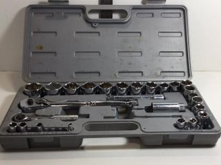 WESTWARD SOCKET SET SA12, INCOMPLETE