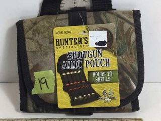 HUNTERS SHOTGUN AMMO POUCH - HOLDS 10 SHELLS