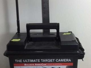 THE ULTIMATE TARGET CAMERA BULLSEYE AMMOCAM