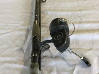 ZEBCO XB65 REEL & SILSTAR GRAPHITE COMP. ROD, 7'