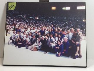 STANLEY CUP TEAM PHOTO - 1988 EDMONTON OILERS