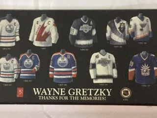 "WAYNE GRETZKY ""THANKS FOR THE MEMORIES"" RETIREMENT"