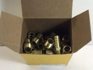 BOX APPR 52 BRASS BARB X MIP 1/2""
