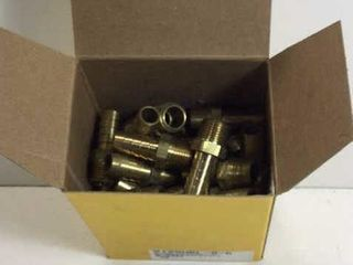 BOX APPR 50 BRASS BARB X MIP 1/2""