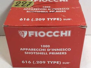 1 BOX .209 SHOTGUN PRIMERS - 1000 COUNT