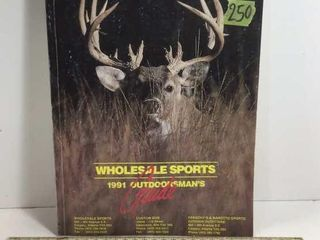 WHOLESALE SPORTS 1991 OUTDOORSMAN GUIDE