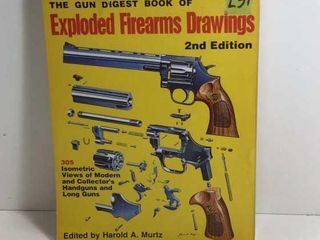 GUN DIGEST OF EXPLODED FIREARMS DRAWINGS 2ND EDIT.