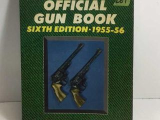 OFFICIAL GUN BOOK - 6TH EDITION 1955-1956