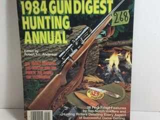 FIRST EDITION 1984 GUN DIGEST HUNTING ANNUAL