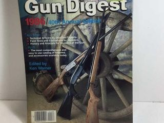 1986 GUN DIGEST 40TH ANNUAL EDITION