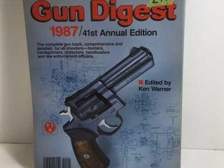 1987 GUN DIGEST 41ST ANNUAL EDITION