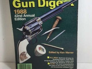 1988 GUN DIGEST 42ND ANNUAL EDITION