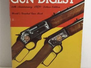 1970 DELUXE EDITION GUN DIGEST 24TH ANNIVERSARY