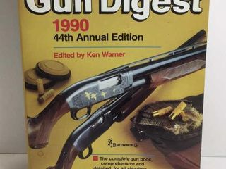 1990 GUN DIGEST 44TH ANNUAL EDITION