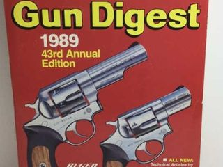1989 GUN DIGEST 43RD ANNUAL EDITION