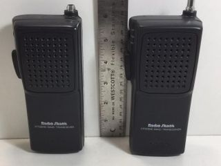 SET OF 2 RADIO SHACK TRC-92 CB WALKIE TALKIES