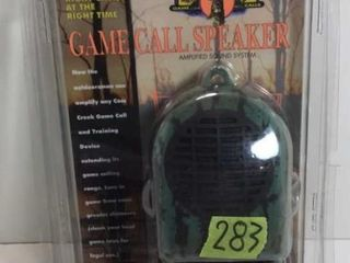 ELECTRONIC GAME CALL SPEAKER BY CASS CREEK