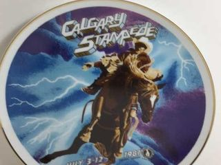 CALGARY STAMPEDE 1981 POSTER PLATE
