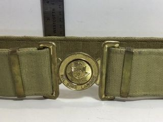 NIL SINE LABORE ADJUSTABLE BELT