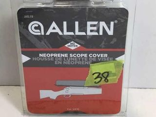 ALLAN NEOPRENE SCOPE COVER - MOSSEY OAK - MED