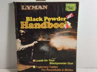 LYMAN BLACK POWDER HANDBOOK