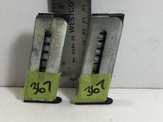 2 - UNIDENT PISTOL MAGS - 25ACP