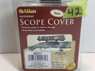ALLAN NEOPRENE SCOPE COVER - MOSSEY OAK - SM