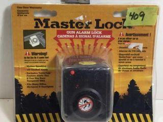 MASTER LOCK GUN ALARM LOCK
