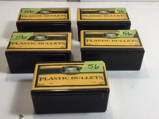 5 CASES 45 CAL PLASTIC TRAINING BULLETS