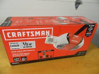 New Craftsman Garage Door Opener