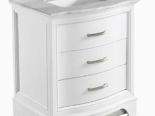 New Allen + Roth Tennaby Bathroom Vanity with Marble Top