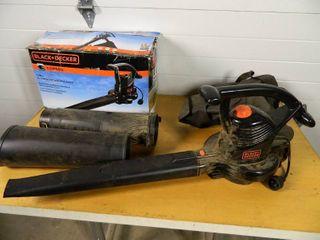 Black and Decker Blower / Vacuum / Mulcher