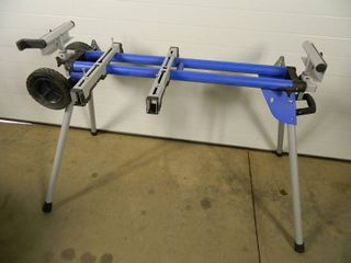 Kobalt Mobile Folding Miter Saw Stand with Wheels
