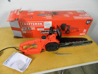Craftsman 14 inch Electric Chainsaw