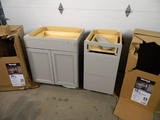 2 Base Cabinets for Repair
