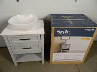 New Bathroom Vanity with Vessel Sink (see details)