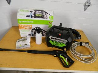 Greenworks Compact Portable Pressure Washer